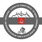 Mountain Bike T-Shirt - Coast To Coast - East Peak Apparel by springwoodbooks