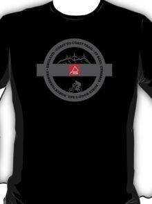 Mountain Bike T-Shirt - Coast To Coast - East Peak Apparel T-Shirt