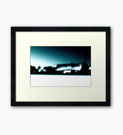 Night Sports Framed Print