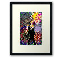 Traversing Time Framed Print