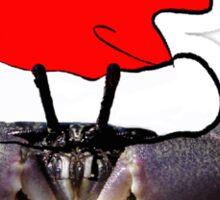 Merry Christmas Crab   TEE Sticker