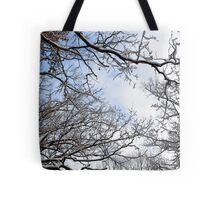 Winter in the Forest II Tote Bag