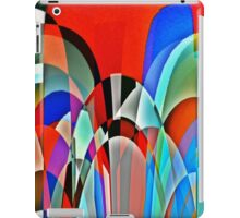 Insect view of a garden iPad Case/Skin