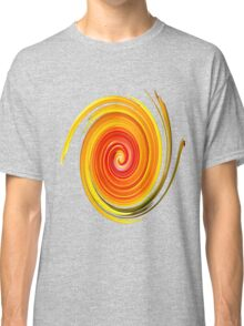 Swirl Long Sleeve Classic T-Shirt