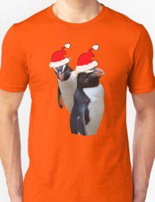 MR & MRS PENGUIN CLAUS    TEE T-Shirt