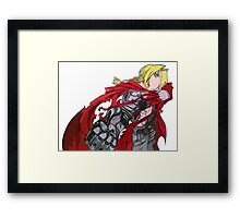 Edward Elric Full Metal Alchemist  Framed Print