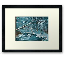 Winter Snow Framed Print
