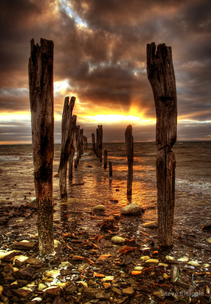 Kangaroo Island Sunrise by Steve Chapple
