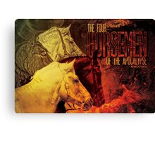 The Four Horsemen of the Apocalypse Canvas Print