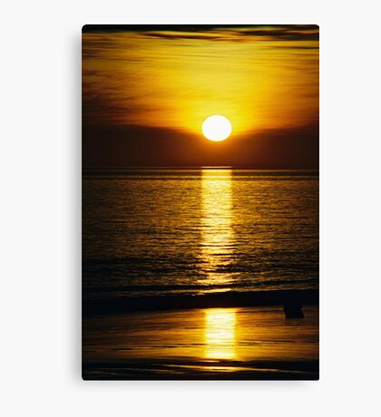 sunset spear  Canvas Print