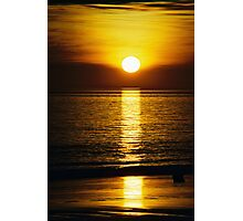 sunset spear  Photographic Print