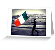 Is Eireannach Me- I am irish Greeting Card