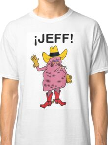 Meet Jeff the Diseased Lung! Classic T-Shirt