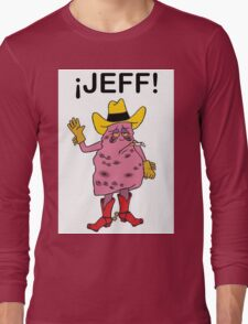 Meet Jeff the Diseased Lung! Long Sleeve T-Shirt