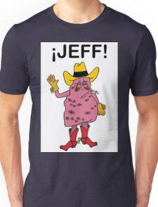 Meet Jeff the Diseased Lung! Unisex T-Shirt