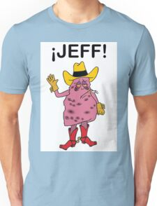 Meet Jeff the Diseased Lung! Unisex T-Shirt