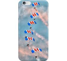 Falcons - RAF Parachute Display  iPhone Case/Skin