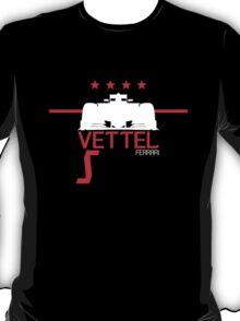 Sebastian Vettel 2015 - White T-Shirt