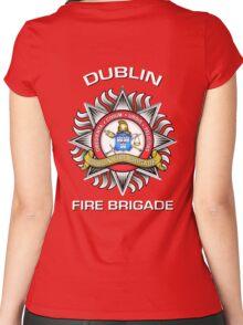 Dublin Fire Brigade Women's Fitted Scoop T-Shirt