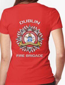 Dublin Fire Brigade Womens Fitted T-Shirt