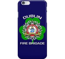 Dublin Fire Brigade w/ Shamrock iPhone Case/Skin