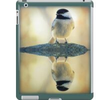 Reflecting Pool Chickadee iPad Case/Skin