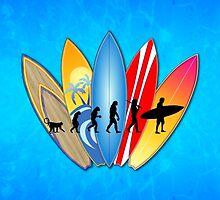 Surfing Evolution by Packrat