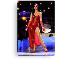 Katy Perry Superbowl Canvas Print