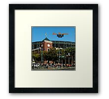 San Francisco Home of Baseball Fever Framed Print