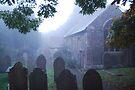 Misty Graveyard by DonDavisUK