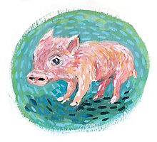 Piggie Photographic Print