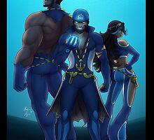 Team Aqua Full Art by Toastydoodles
