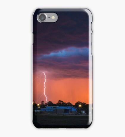 Lightning Sunset iPhone Case/Skin