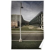 Greenway and Government Building Poster