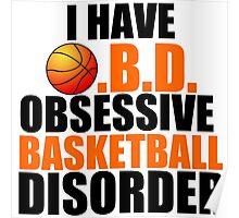 OBSESSIVE BASKETBALL DISORDER Poster