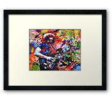 Jerry Garcia Art Print, Grateful Dead Original Painting Framed Print