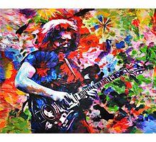 Jerry Garcia Art Print, Grateful Dead Original Painting Photographic Print