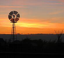 Silent Windmill by wwyz
