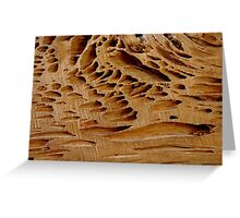 Naturally Grooved Greeting Card