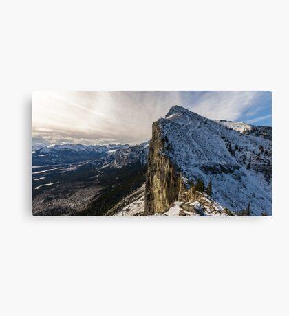 Mount Yamnuska Canvas Print