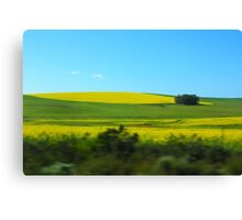 Colorful South Africa Canvas Print