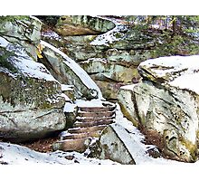 There Was a Crooked Step Photographic Print