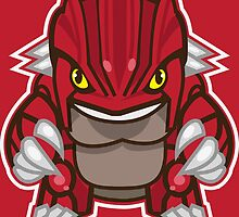 Groudon by gizorge