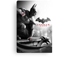 Batman Arkham City Canvas Print