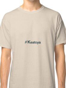 Keatoya Hashtag Classic T-Shirt