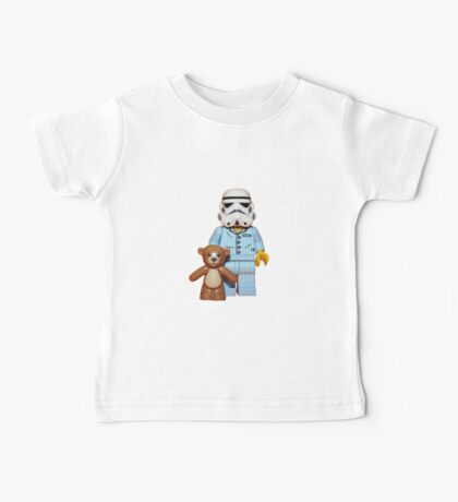 Sleepy Stormtrooper Baby Tee