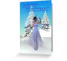 Fairy Christmas Greeting Card