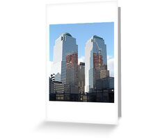 Ground Zero Reflections Greeting Card