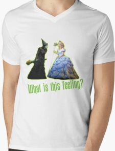 Wicked The Musical Mens V-Neck T-Shirt