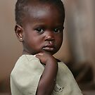 Nigerian child by Abi Skeates